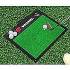 Wisconsin Badgers Golf Hitting Mat