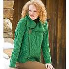 Merino Wool Corina Cardigan with Single-Button Front