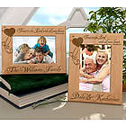 Personalized Trust in the Lord Wooden Picture Frame