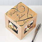 Couple In Love Personalized Picture Frame Cube