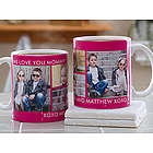 Personalized Picture Perfect Collage Photo Mug