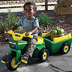 John Deere Trike and Wagon