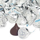 Personalized 2 Hearts Wedding Hershey's Kisses Candies
