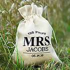 Future Mrs. Personalized Drawstring Bag