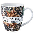 Nature Because It's Cheaper Than Therapy Coffee Mug