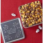 Embossed Tin of Drizzled Caramel Popcorn