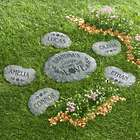 Personalized Blooms with Love Garden Stepping Stone