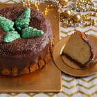 Christmas in Copenhagen Crown Cake