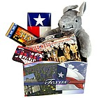 Texas Greetings Basket