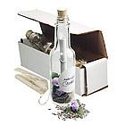 Lavender Seeds Message in a Bottle