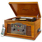 Radio Lancaster Musician Turntable and Entertainment Center