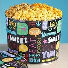 Fun with Snacks Popcorn Tin