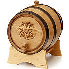 Personalized Handcrafted Wine Barrel