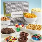 Simply Stated Congratulations Popcorn and Sweets Sampler