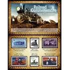 Railroad Commemorative Stamp Collection