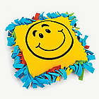 Fleece Smile Face Tied Pillow Craft Kit