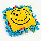 Fleece Smile Face Tied Pillow Craft Kit