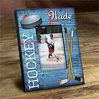 Personalized Kid's Hockey Picture Frame