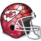 Kansas City Chiefs Football Helmet Tabletop Accent Lamp