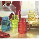 Colorful Mason Jar Mug Set