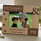 Personalized Mommy and Me Picture Frame