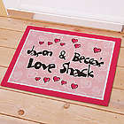 Personalized Love Shack Doormat