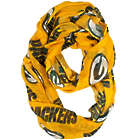 Green Bay Packers Gold Background Sheer Infinity Scarf