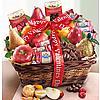 Be Mine Valentine Fruit and Chocolates Gift Basket