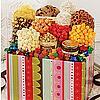 Jumbo Striped Snack Gift Box