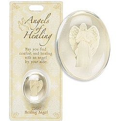 Grief Healing Angel Pocket Stone