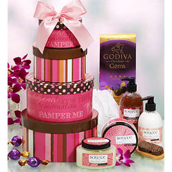 Spa Treatment Gift Baskets