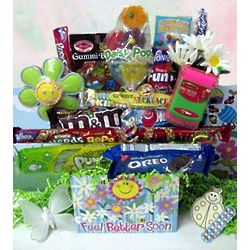 Smilin' Daisies Get Well Candy Busy Box