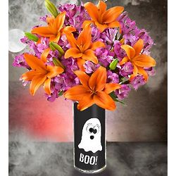 Halloween Boo-quet of Flowers