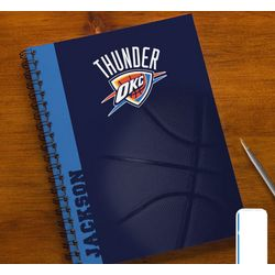 Personalized NBA Basketball Notebooks