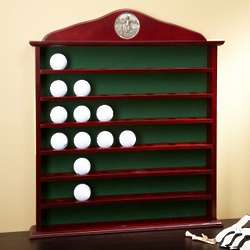 Engravable 49 Golf Ball Display Cabinet