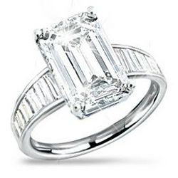 A-List Celebrity Diamonesk Women's Ring