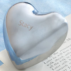 Personalized Two-Sided Chiming Heart