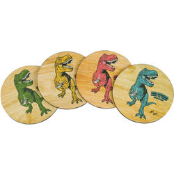 Tea-Rex Coasters