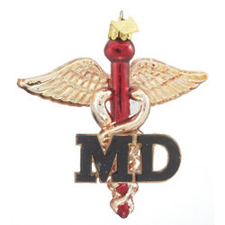 Medical Doctor Christmas Ornament