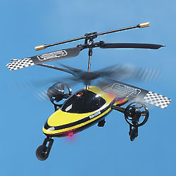 Vehi-Cross Remote Control Helicopter Toy