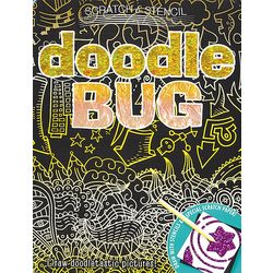 Scratch and Stencil Doodle Bug Art Kit