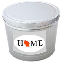 Wisconsin Home 3.5 Gallon Popcorn Tin