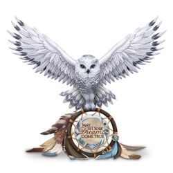 May All Your Dreams Come True Owl Figurine