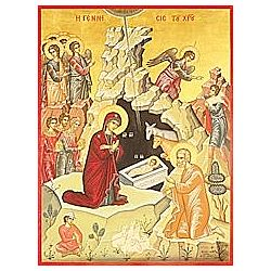 Nativity of the Lord Icon