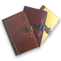Handcrafted Leather Writing Pad Portfolio