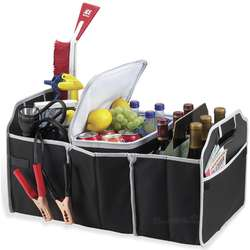 Portable Trunk Organizer and Cooler