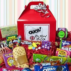 Ouch! Candy Busy Box