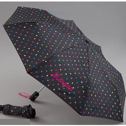 Personalized Polka Dots Umbrella