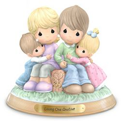 Precious Moments 35th Anniversary Loving One Another Figurine