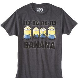 Despicable Me Minions Men's Graphic Tee